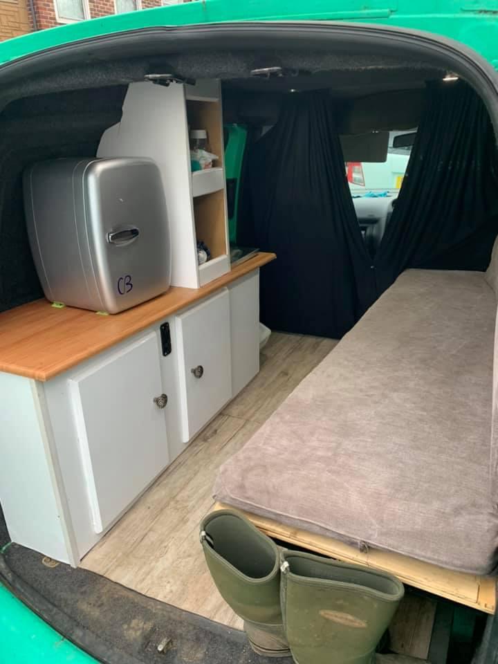 Best VW Caddy Camper Conversion 2021