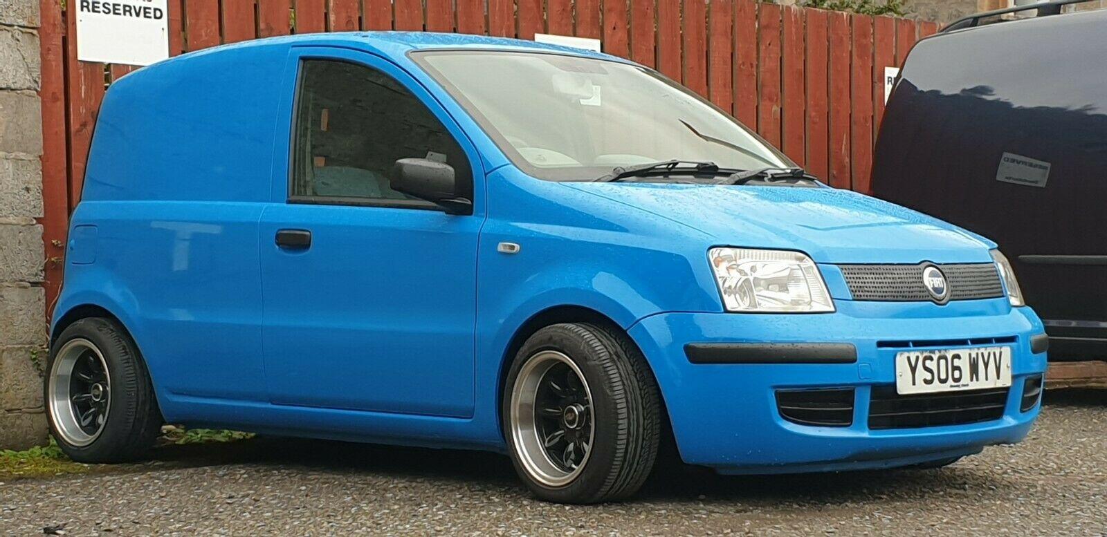 Modified Fiat Panda Van