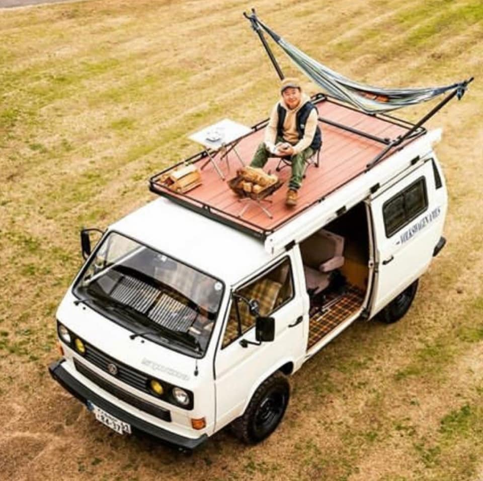 Roof Rack Camping Space Ideas