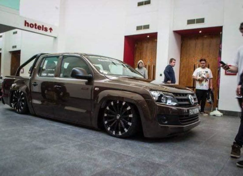 4X4 Van For Sale >> Rayvern's Slammed VW Amarok